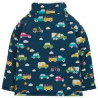 Frugi Rainbow Roads Snuggle Fleece